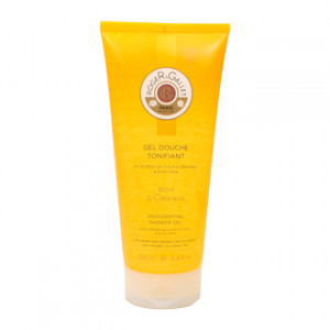 Roger & Gallet Bois d'Orange - Gel douche Tonifiant - 200 ml Extrait de fleur d'oranger & Aloe Vera Sans savon Sans paraben Sans colorants