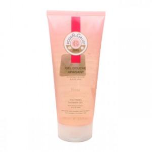 Roger & Gallet Rose - Gel Douche Apaisant - 200 ml Convient aux peaux sensibles Sans savon Sans paraben Sans colorants
