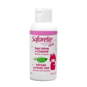 Saforelle Miss 100 ml Soin intime et corporel nettoie et apaise Sans paraben