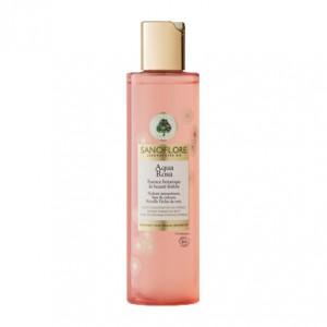 Sanoflore Aqua Rosa - Essence Botanique de Beauté Fraîche - 200 ml Hydrate intensément Lisse et veloute Réveille l'éclat du teint Convient aux peaux sensibles Sans paraben