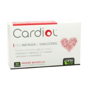 sante verte cardiol 60 comprimes complement alimentaire a ail pour maitrises son cholesterol hyperpara