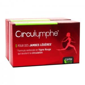 Santé Verte Circulymphe 60 comprimés pour avoir des jambes légères hyperpara