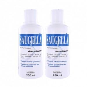Dermoliquide - Soin Lavant Doux - Lot de 2 Flacons de 250 ml