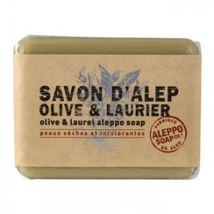 Savon Alep Olivier et Laurier 100g Pour peaux sèches et intolérantes Visage et corps