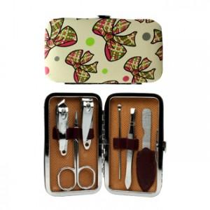 Set Manucure Noeuds Existe en différentes coloris 6 accessoires