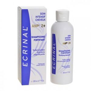 Ecrinal Shampooing Fortifiant à l'ANP2+ 200 ml Tonifie et revitalise de la racine jusqu'à la pointe Pour cheveux secs cassants, abîmés