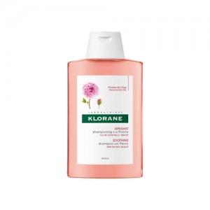 Shampooing Apaisant à l'Extrait de Pivoine - Cuir Chevelu Irrité 200 ml - KLORANE