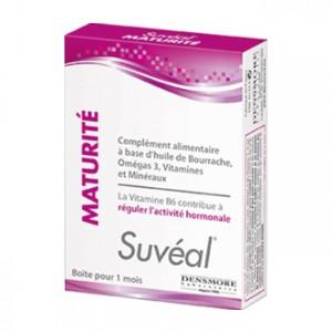 Suvéal Densmore Maturité 30 Capsules Boîte pour 1 mois Régule l'activité hormonale