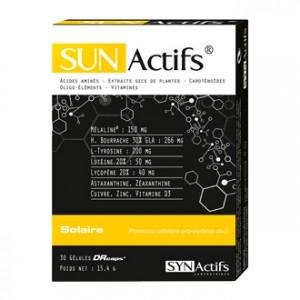 SYNActifs SunActifs Solaire 30 Gélules Protection cellulaire antioxydante