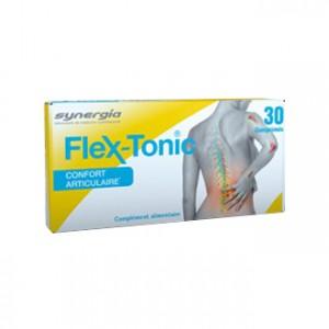 Synergia Flex-Tonic 30 Comprimés Synergie exclusive d'un collagène de type II et de silice Confort articulaire