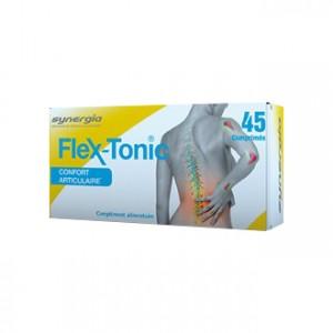 Synergia Flex-Tonic 45 Comprimés Synergie exclusive d'un collagène de type II et de silice Confort articulaire