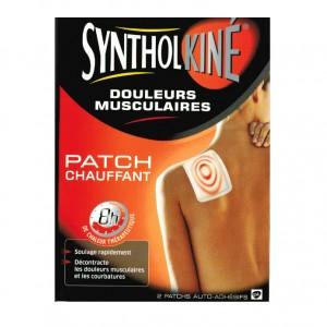 Patch Chauffant SyntholKiné - 2 Patchs Petit Format