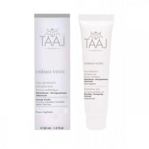 taaj-dermo-vedic-gel-apaisant-30-ml-pre-post-acte-dermo-esthetique-rafraichissant-decongestionnant-adoucissant-pour-peaux-fragilisees-soin-visage-hyperpara