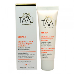taaj-kerala-creme-eclat-jour-spf15-50-ml-perfecteur-de-peau-anti-taches-soin-unifiant-lissant-et-revelateur-d-eclat-hyperpara