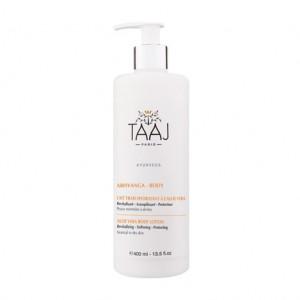 Taaj Abhyanga - Body - Lait Frais Hydratant à l'Aloe Vera 400 ml NOUVELLE FORMULE Peaux normales à sèches Revitalisant, assouplissant, protecteur