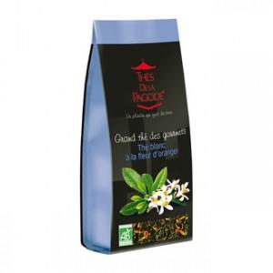 Thé de la Pagode Grand Thé des Gourmets - Thé Blanc à la Fleur d'Oranger 110g