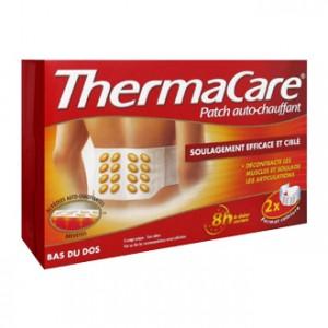 thermacare patch auto chauffant bas du dos 2 patchs soulage efficacement et cible decontracte les muscles et soualge articulations