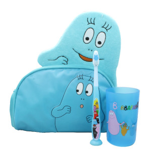 tinokou-creation-barbapapa-bleu-coffret-cadeau-4-pieces-bebe-toilette-hyperpara