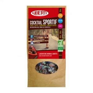 Uberti's Cocktail Sportif BIO - 250gr Figues, dattes, cranberries et amandes douces Un cocktail bio, pour les sportifs ! Sans gluten Convient aux végétariens
