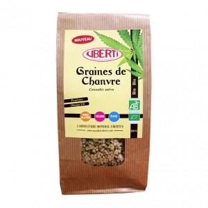 Uberti's Graines de Chanvre BIO - 200gr Naturellement riche en protéines et en Omagé 3-6 Sans gluten Convient aux végétariens
