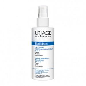 Uriage Bariéderm - CICA-Spray Asséchant Réparateur au Cu-Zn - 100 ml Répare Assèche Anti-irritations Peaux fragilisées, irritées Visage et corps 3661434005367