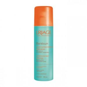 uriage bariésun brume rafraichissante 150 ml après-soleil effet apaisant brumisateur multiposition peaux échauffées visage et corps hypoallergénique