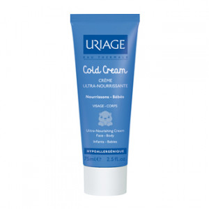 Uriage Bébé Cold Cream Crème Ultra-Nourrissante - Visage et Corps - Nourrissons - Bébés 75ml