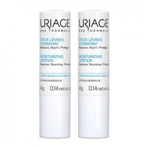 Uriage Stick Lèvres hydratant DUO 2 x 4gr Restaure, nourrit et protège Lèvres desséchées Hypoallergénique 3661434004773