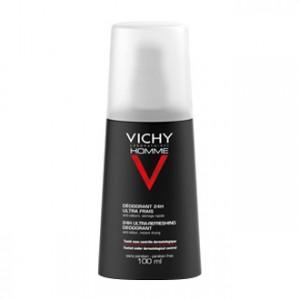 Vichy Homme Déodorant Vaporisateur Ultra-Frais 100 ml