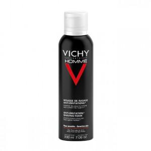 Vichy Homme Mousse de Rasage Anti-Irritations 200 ml Votre peau est mieux protégée durant le rasage 3337871318901
