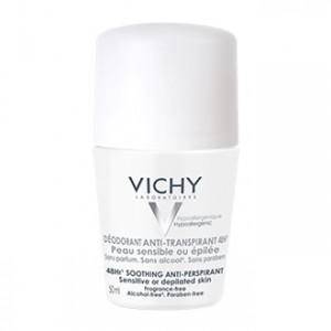 Vichy Déodorant Bille Peaux Sensibles ou Epilées 50 ml