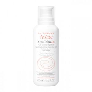 Avène XeraCalm A.D - Huile Lavante Relipidante 400 ml Nettoie en douceur Apaise les sensations de démangeaisons Peau très sèches et à tendance atopique