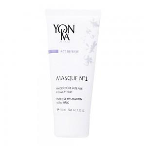 Yonka Age Defense - Masque N°1 - 50 ml Hydratant intense réparateur Anti-âge A l'imperata cylindrica Pour peaux déshydratées et abîmées Sans paraben