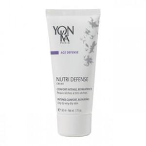 Yonka Age Defense - Nutri Defense Creme - 50 ml Peaux sèches à très sèches Confort intense, réparatrice A l'huile d'Inca Inchi