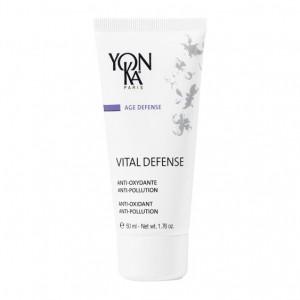 Yonka Age Defense - Vital Defense - 50 ml Anti-oxydante Pour toutes peaux Aux peptides de moringa Sans paraben