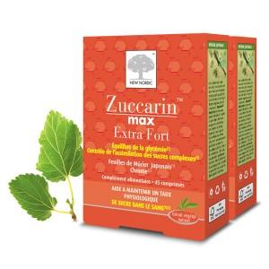 Zuccarin Max Extra Fort 90 Comprimés - Lot de 2 Boites