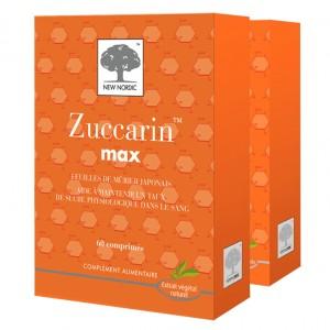 Zuccarin Max 60 Comprimés - Lot de 2 Boites