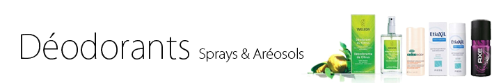 Déodorant spray, déodorant aéorosol parapharmacie hyperpara