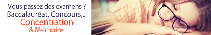 Examens, stress, memoire concentration hyperpara, Votre Para Chic à Petits Prix !
