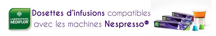 Médiflore infusion capsule Nespresso parapharmacie hyperpara