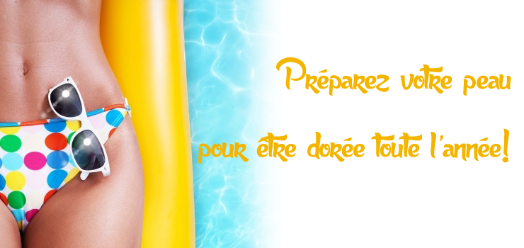 Blog préparez votre peau pour être dorée toute l'année hyperpara