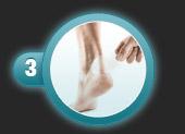 Utilisation du pansement ampoule de compeed étape 3