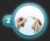 Utilisation du patch pansement oignon de compeed étape 2