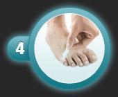 Utilisation du patch pansement oignon de compeed étape 4
