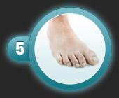 Utilisation du patch pansement oignon de compeed étape 5